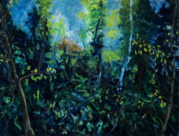 Ferdinand Melichar painting